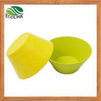 Buy cheap Natural Bamboo Fiber Powder Bowl Salad Bowl from wholesalers