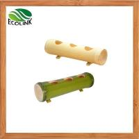 Buy cheap Handmade Natural Bamboo Plant Pot for Home Decoration from wholesalers