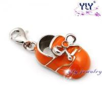 China silver shoes charms H-0619 wholesale