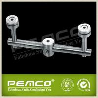 China Stainless steel railing glass clamps PJ-B425 on sale