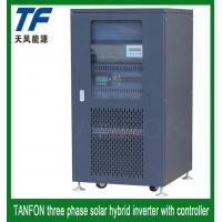 Buy cheap 5kw 10kw 20kw 30kw Three Phase Solar Panel Inverter with 100A Controller from wholesalers
