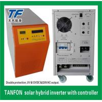Buy cheap Double Protection 1kw 5kw 10kw Solar Power PV Hybrid Inverter Built-in MPPT Charger Controller from wholesalers