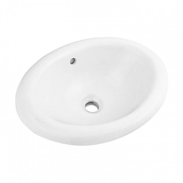 Quality Oval Top Mount Bathroom Cabinet Sink, SS-O2015 for sale