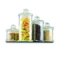 China Anchor Hocking 4-Piece Round Canister Set with Ball Lid wholesale