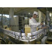China Plastic Cup Yoghurt Processing Machine / Pasteurized Milk Manufacturing Line for Ice Cream on sale