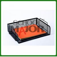 China School Major- Steel Mesh Stackable Letter Tray on sale