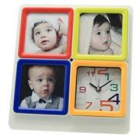 China Decorative Photo Frame Table Clock wholesale