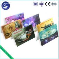 China Stereoscopic 3D PP Lenticualr Greeting Card wholesale