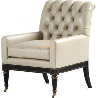 China Chesterfield Style Leather Club Lounge Armchair wholesale