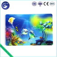 China 3D effect PP lenticular table mat Placemat of Sea scenery wholesale