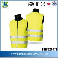 China Winter Wadded High Visibility Safety Vests on sale