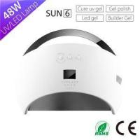 Buy cheap Portable Sun Nail Lamp Machine Sun6 48w Curing Lamp with Automatic Sensor from wholesalers