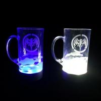 China Bar Series Jixi made plastic led beer cups,plastic beer cups with led lighting wholesale