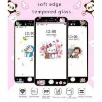 Buy cheap Ultra Thin Carbon Fiber Tempered Glass For Iphone 6 6s Plus Sumsang Huawei Fashion Cartoon Pattern E from wholesalers