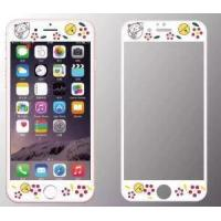 Buy cheap New Iphone6S Carbon Fiber Surface Relief Cartoon Glass Membrane Iphone 6plus Full Screen 3D Surface from wholesalers