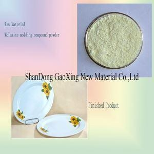 China Bright Color High Temperature Resistant Environmental Protection Melamine Molding Compounds