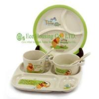 China Bamboo Fiber Dinnerware EH-D805 wholesale