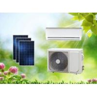 China ACDC Split Dual Power On Grid Hybrid Solar Air Conditioner Wall Split Type on sale