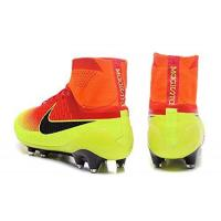 China 2016 New Style Mens Magista Obra FG-Red-Vert With ACC Purple Hi Top Football Shoes Soccer Boots wholesale