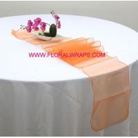 China Tulle/Net/Mesh Organza Table Runner wholesale