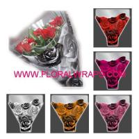 China Tulle/Net/Mesh floral sleeves roses wholesale