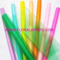 Buy cheap Tulle/Net/Mesh Cut edge cystal organza roll from wholesalers