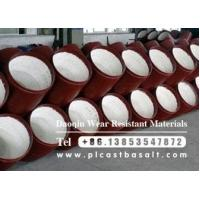 China alumina ceramic lined steel pipe to be delivered wholesale