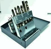 China 18 Pc. HSS Tap & Drill Set M2-M12Tap/2.05mm-10.2mm Drill ET504099TDS wholesale
