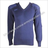 China Navy Blue Military Pullover wholesale