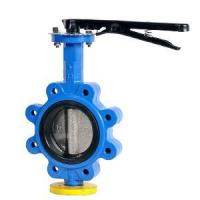 China One stem pinless butterfly valve lug type wholesale