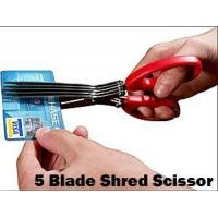 China 5 Blade Shredding Scissors wholesale