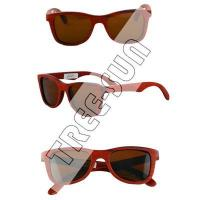 China TR-S027 Red Wood Sunglasses wholesale
