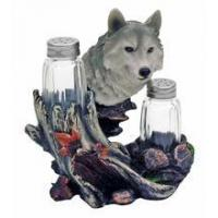 China Wolf Seasons Salt & Pepper Shakers Set #182 HOME DECOR wholesale