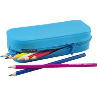 China Silicone rubber pencil bag for students wholesale
