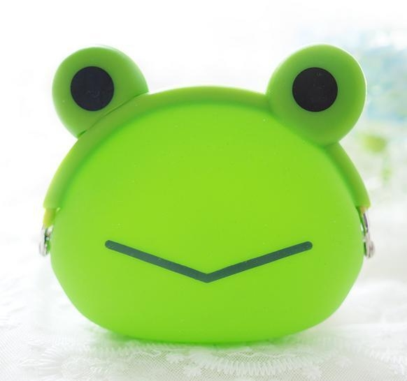 Quality Wholesale Cheap small cartoon shaped silicone coin purse for sale