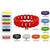 Buy cheap Silicone Twist Link Bracelet from wholesalers