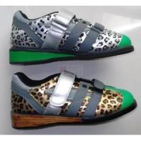 China 1137 Leopard Weightlifting Shoes wholesale