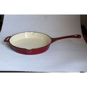 Quality Cast Iron Skillet With Enamel for sale