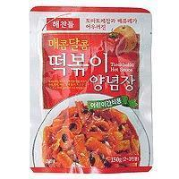 China Red Pepper Paste for Korean Pan Fry Rice Cake - 5.3oz on sale