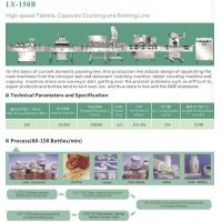 LY-150B high-speed Tablet,Capsules Counting and Bottling Line