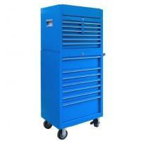 Buy cheap 27 inches 9+7 drawers blue Iron tool chest Powder coating LC2716IBU from wholesalers
