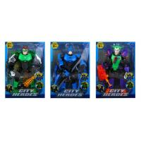 China Plastic Toy City heroes wholesale