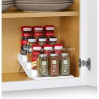 China White SpiceSteps 4-Tier Cabinet Spice Rack Organizer wholesale