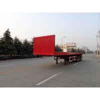 Buy cheap Flat dump semi-trailer rollover from wholesalers