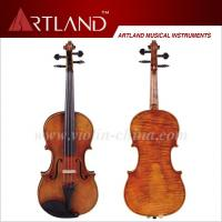 AVA100 Antique Violin Handmade craft from solid wood