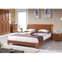 China Hotel Bedroom Furniture Queen Size Wooden Bed Frame wholesale
