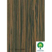 China Reconstituted Ebony Wood Veneer for Boards, Furniture and Decoration on sale