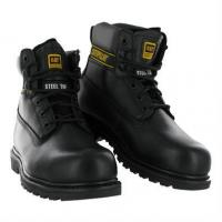 China Footwear Caterpillar Holton Safety Boot, Black on sale