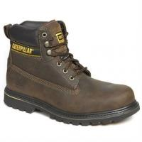 China Footwear Caterpillar Holton Safety Boot, Brown on sale
