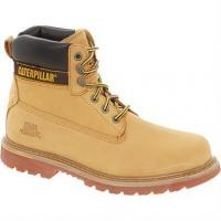 China Footwear Caterpillar Holton Safety Boot, Honey on sale